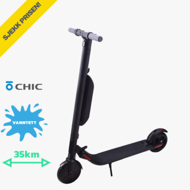 chic s2 el sparkesykkel med lang rekkevidde